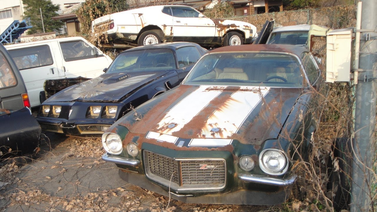 This Heartbreaking Video Takes You On A Tour Of An Abandoned American Muscle Car Graveyard