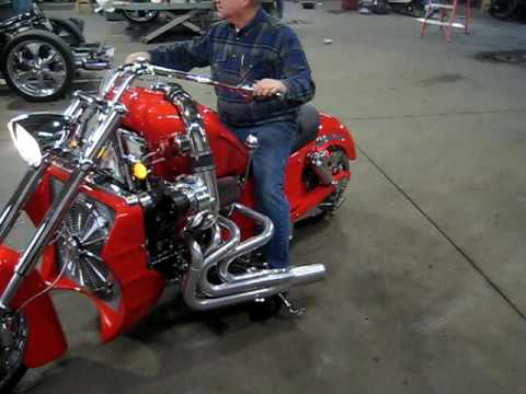 Check out Boss Hoss Concepts Fire Breathing Motorcycle!
