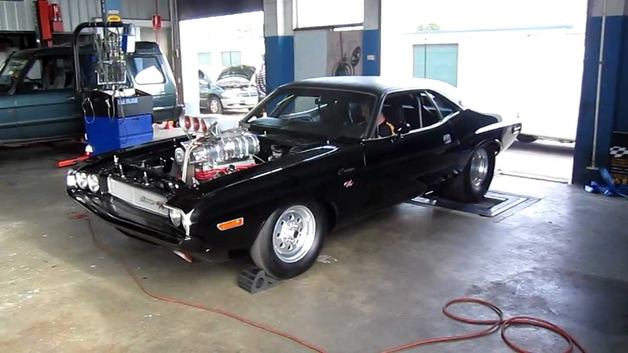 This Dodge Challenger Hits 1600hp While Attacking The Dyno