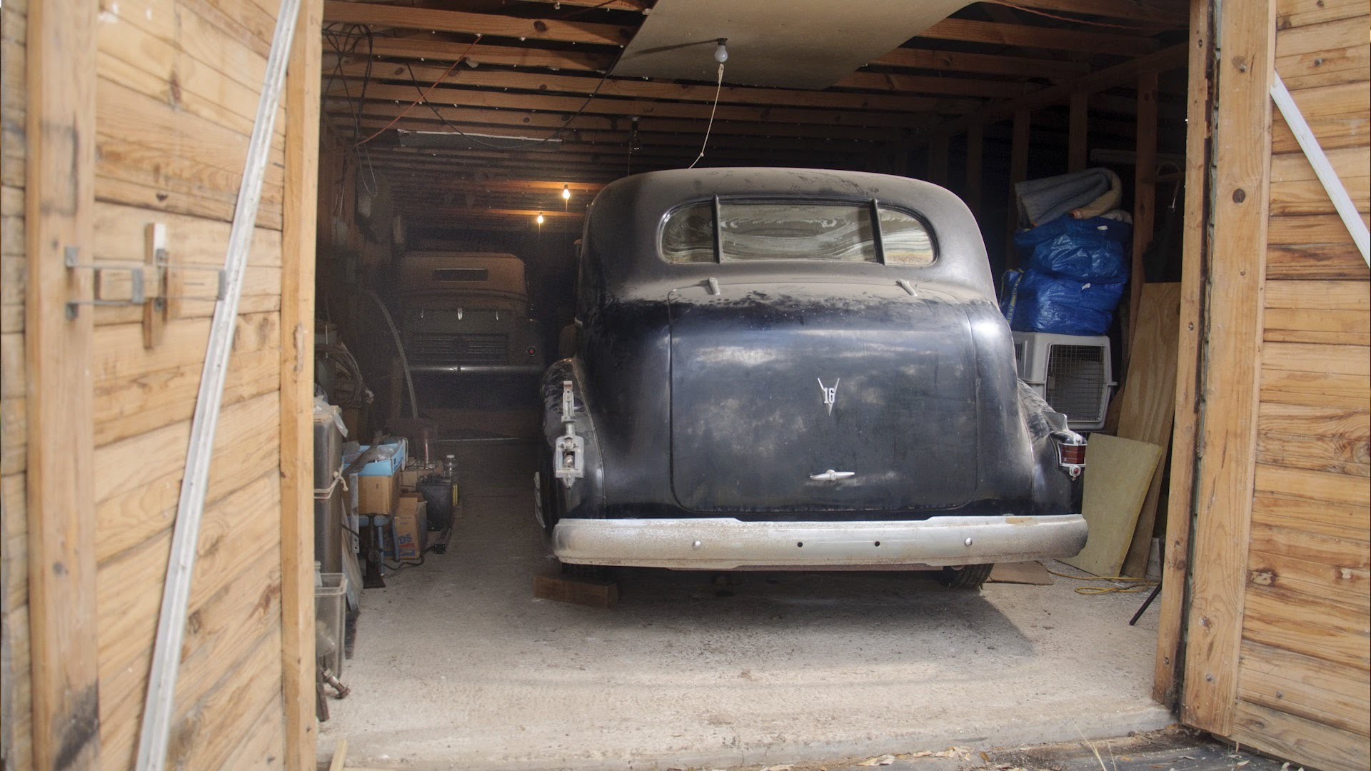 Texas Barn Find Five Pre War Automobiles Discovered
