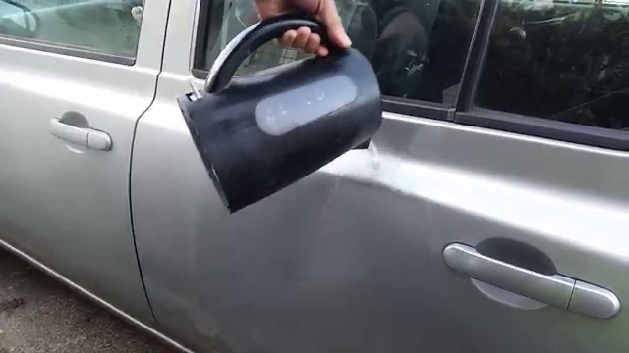 Use Plunger To Open Car Door