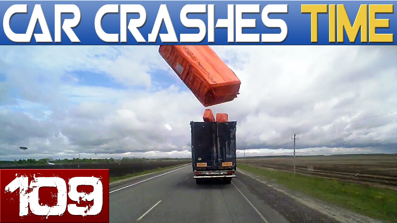 craziest scariest car crashes of 2016 will scare your straight and