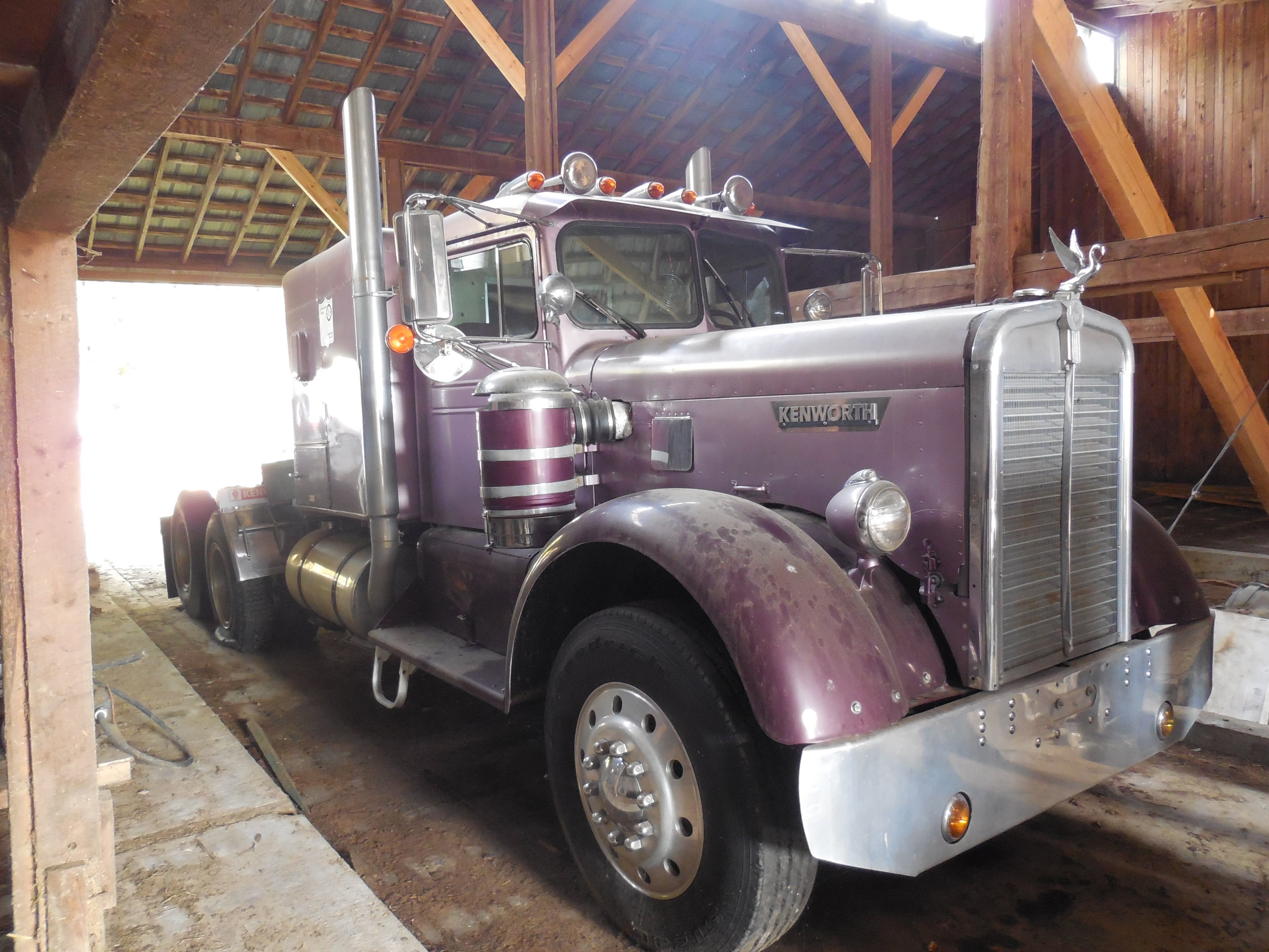 This Incredible Kenworth Truck Is An Awesome Barn Find That Tops All Other Finds